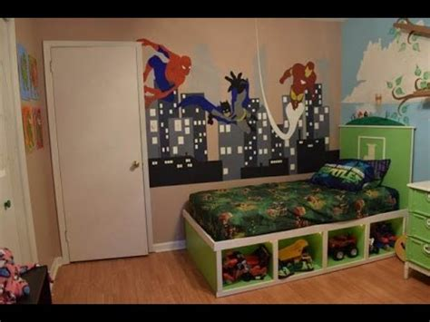 Kids Bedroom Painting Ideas kids room superhero cinderella makeover time lapse youtube