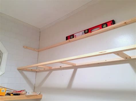 How To Install Floating Shelves On A Tile Wall Using Wall Installing Floating Shelves