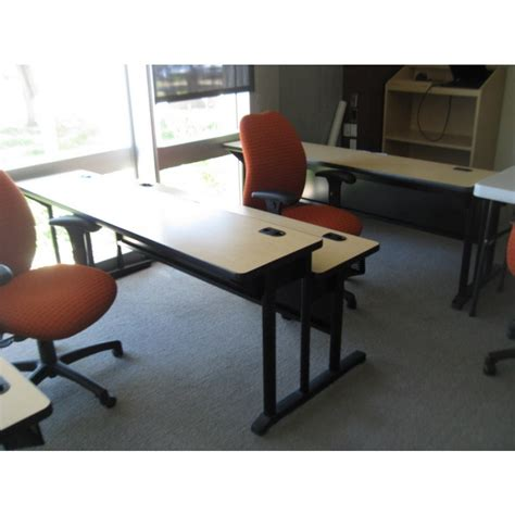 used dual height training tables used tables used
