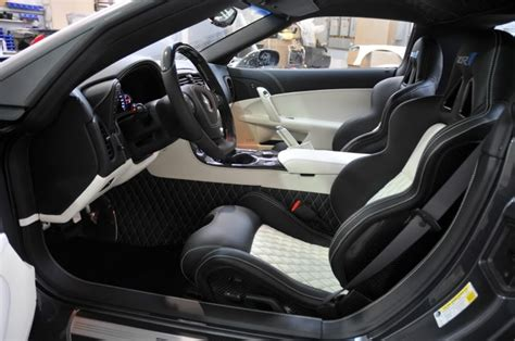 zr1 custom interior by caravaggio corvettes gm