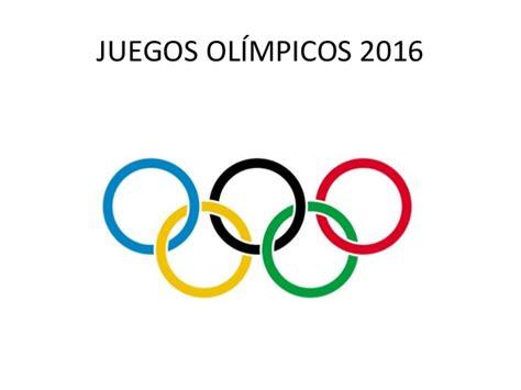 inscripcion de los juegos plurinacionales 2016 juegos generalidades de los juegos ol 237 mpicos 2016