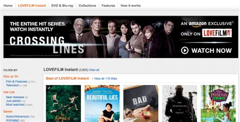 amazon instant video app hits google tv slashgear amazon lovefilm hits iphone and ipod touch with airplay in