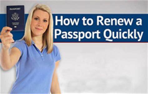 how to renew passport in how to renew a passport