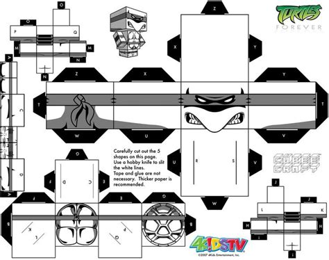 Mutant Turtles Papercraft - 1249 best images about mutant ninjas turtle