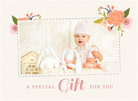 Photography Gift Card - photographer gift card template by stephanie design