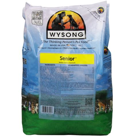 wysong food wysong senior food 4 lb