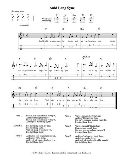 song ukulele ukulele sheet theuke