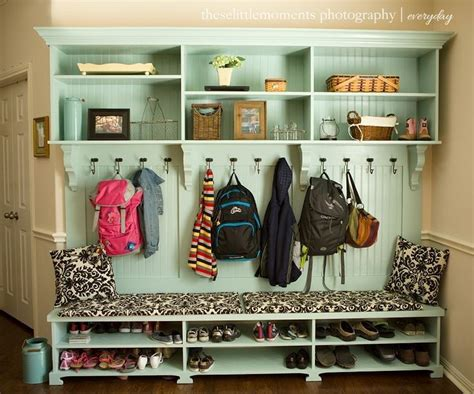 entryway backpack storage entry bench with storage and coat hooks best storage