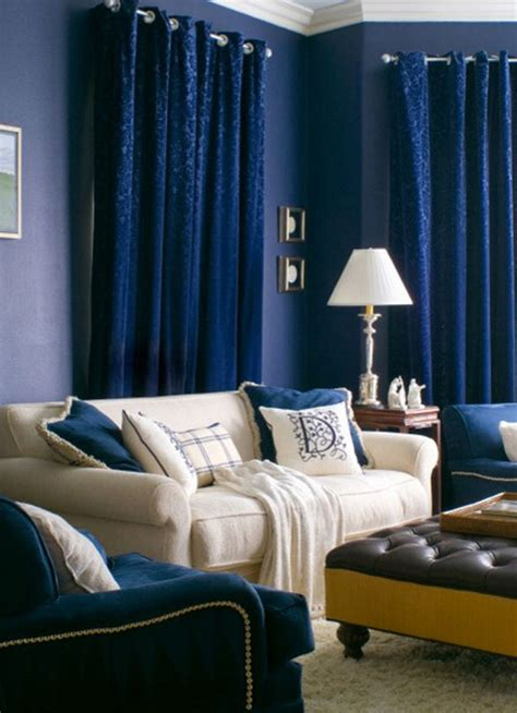 Blue Drapes For Living Room A Bold Statement With Velvet Drapes Curtains