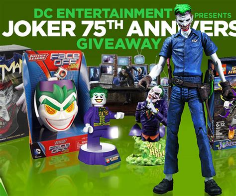 nendoroid the dark knight the joker figure - Dc Comics Giveaway