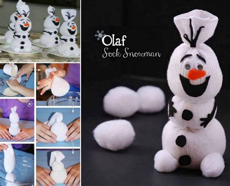elsa sock snowman diy olaf sock snowmen pictures photos and images for and