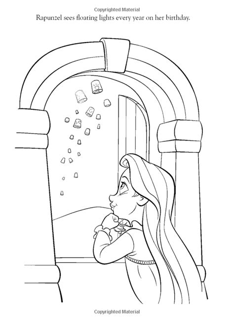 coloring pages of baby rapunzel the best disney tangled rapunzel coloring pages disney