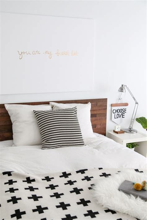 ikea headboard hack diy ikea hack stikwood headboard