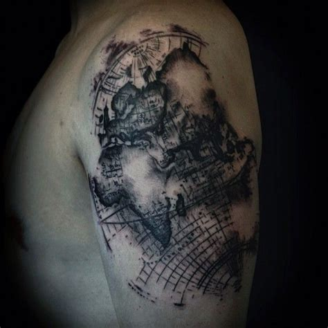 1000 images about map tattoos on worldmap