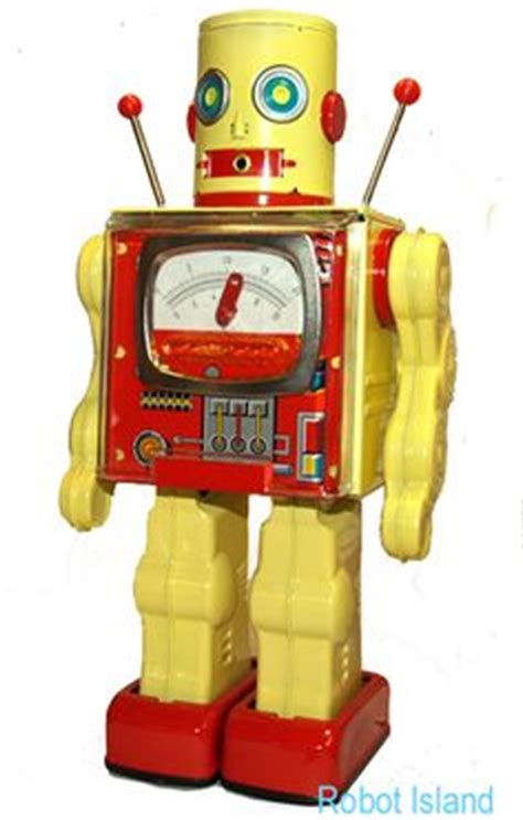 Robo S H F By Greenland Toys vintage sci fi toys on tin toys robots and