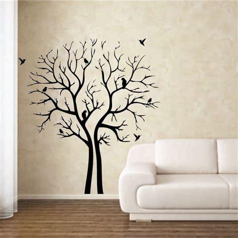 stencil fiori per pareti come decorare una parete casa fai da te