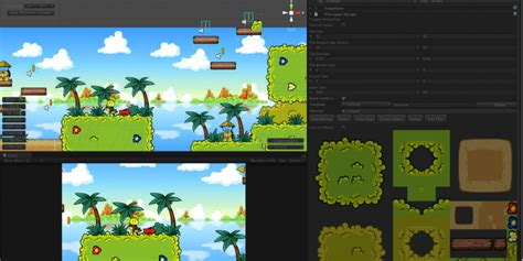 unity layout bug 2d game design