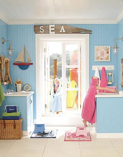 pottery barn kids bathroom ideas 17 best images about beach inspired bathrooms on pinterest