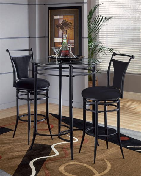 black pub table set mix n match pub table set black finish decor south