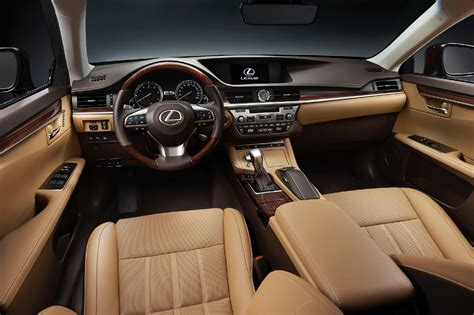 lexus es interior 2016 lexus es 350 styles features highlights