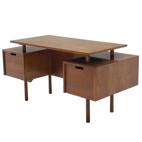 nice desks very nice glenn of california suspended top desk for sale