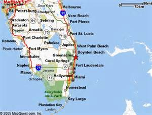 Florida Map East Coast by Delray Beach Fl Is Located On The East Coast Of South