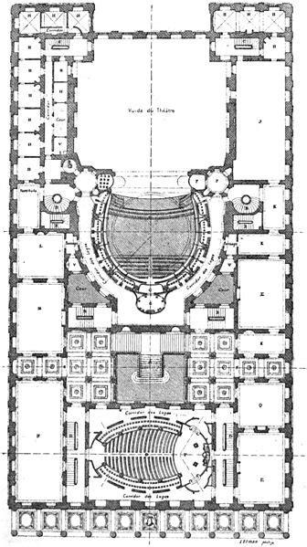 Les Loges Du Theatre 1786 by File Th 233 226 Tre De Bordeaux Plan Au Niveau Des Secondes Loges