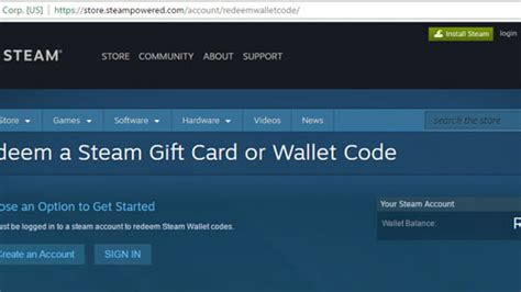 How To Activate Steam Gift Card - steam wallet card 2 usd global activation code