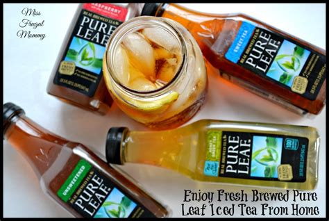 Home Brewed Iced Tea by Enjoy Fresh Brewed Leaf Iced Tea From Home Miss