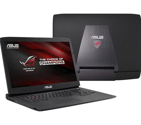 Asus Rog G751jy 17 3 Gaming Laptop asus republic of gamers g751jy 17 3 gaming laptop black aluminium deals pc world