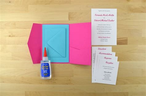 invitation pocket template 167 best diy wedding tips tricks images on