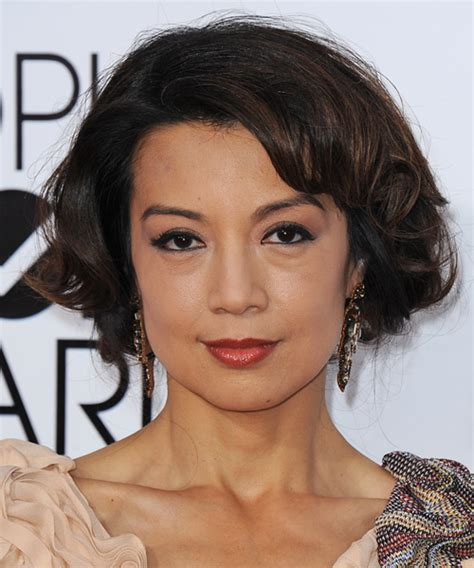wen curly short hair styles ming na wen hairstyles in 2018