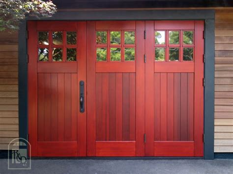 real carriage doors doors to