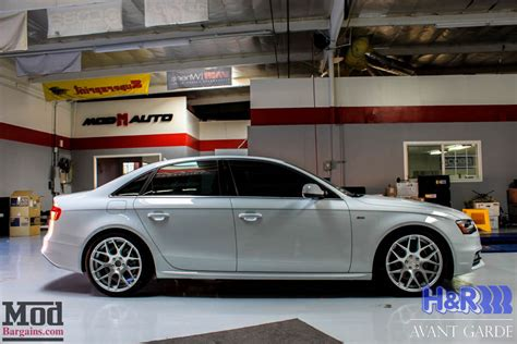 Audi Employment by H R Sport Springs For 2008 15 Audi A4 S4 B8 B8 5 From