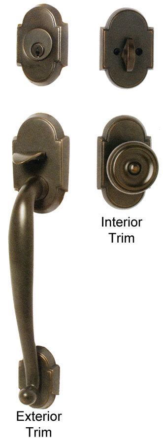door handles exterior emtek nashville brass entry door handle shop entry set