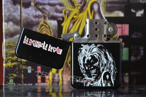 Korek Zippo Iron Maiden Limited iron maiden killers zippo lighter tshirtslayer tshirt and battlejacket gallery