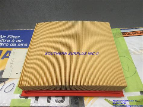 of 6 napa fil 9115 air filter af1295 69115 waf2962 a2962c ma5603 pa4178 southern