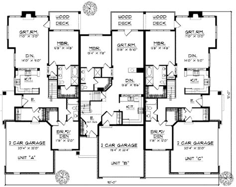 8 bedroom floor plans traditional style house plans plan 7 869