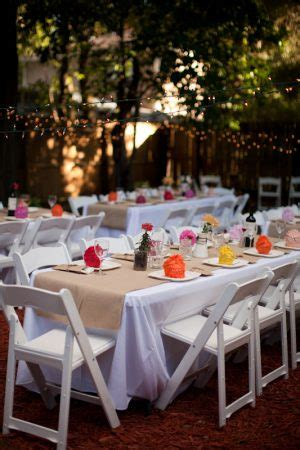wedding decorations at home backyard fall wedding tips ideas totally it