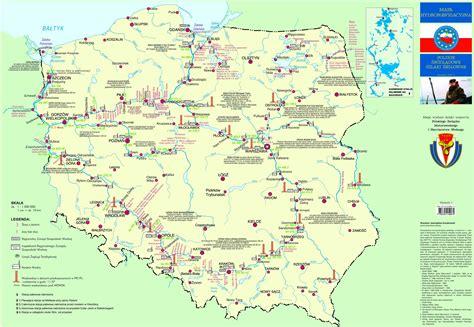 Motorrad Fahren Polen by Wasserwege In Polen Karte Masurenrad De