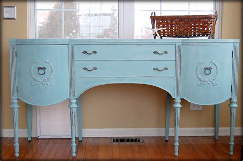 vintage blue buffet table new decoration beautiful