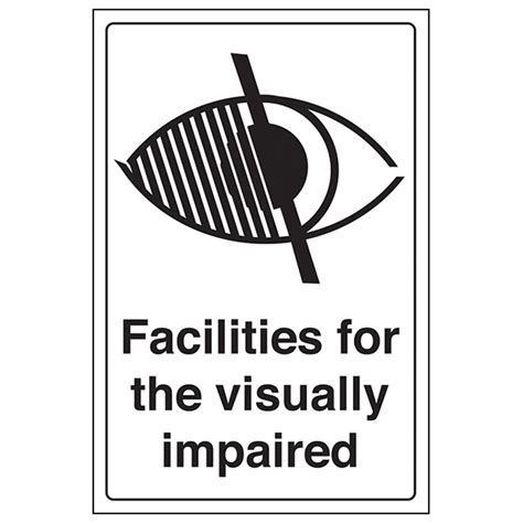 floor ls for visually impaired facilities for the visually impaired safety signs 4 less