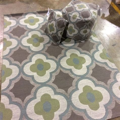 matching rug new indoor and outdoor matching pillow pouf rug sets