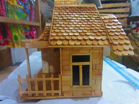 cara membuat rumah adat minang dari kardus rumah adat sederhana dari stik es krim denah rumah
