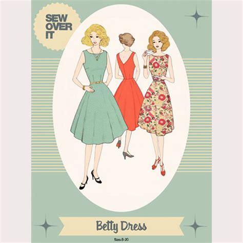 Betty Dress sew it betty dress sewing pattern sew it