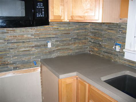 slate backsplash kitchen meade home renovation documenting the progress of first