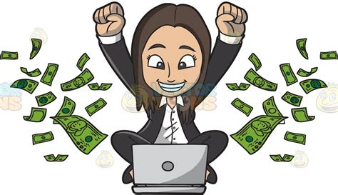 How To Make Money With Art Online - making money clipart clipground