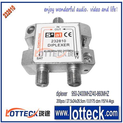 satellite diplexer  china manufacturer ningbo