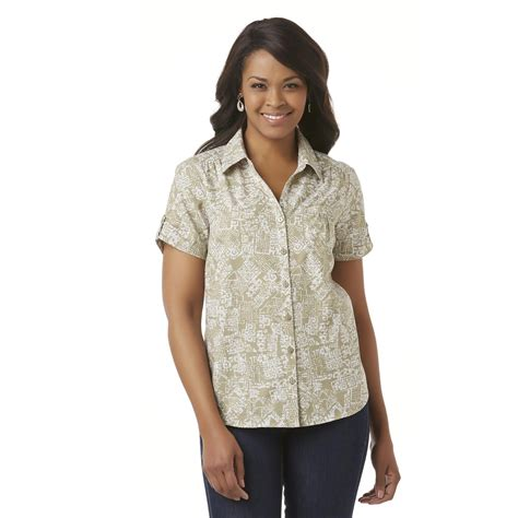 Erika Pocket Navi erika s c shirt tribal sears