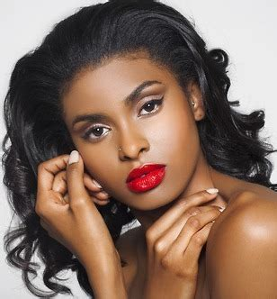 Dark Red Lipstick For Black Women | best red lipstick for dark skin black women shades how